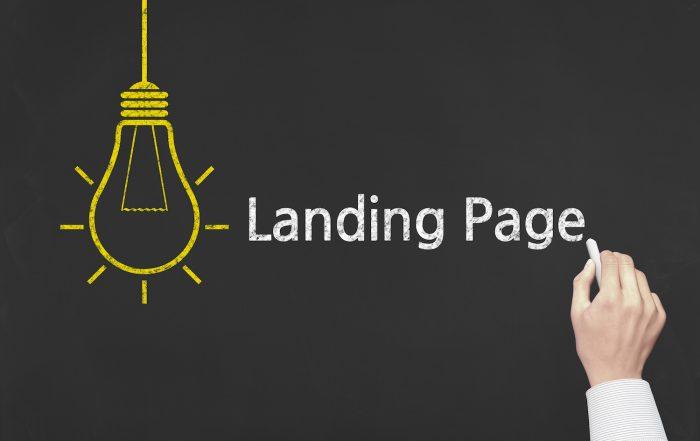 langing pages digital marketing